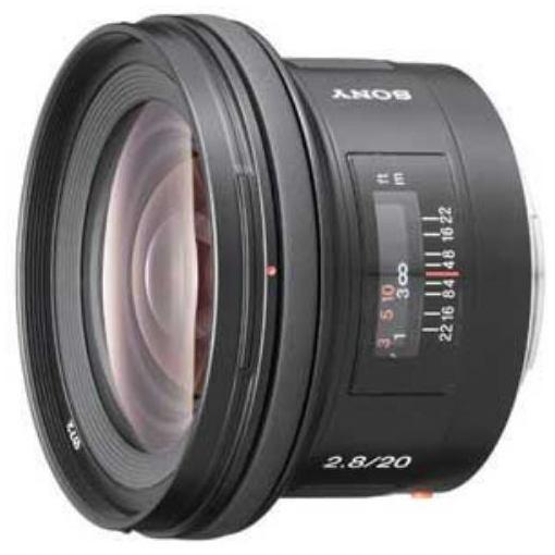 ソニー 交換用レンズ SAL20F28