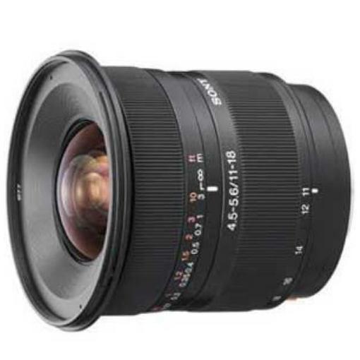 ソニー 交換レンズ DT11-18mm F4.5-5.6 (APS-C用ソニーA(α)マウント)