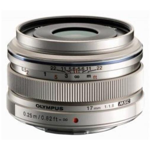 交換レンズ M.ZUIKO DIGITAL 17mm F1.8 シルバー