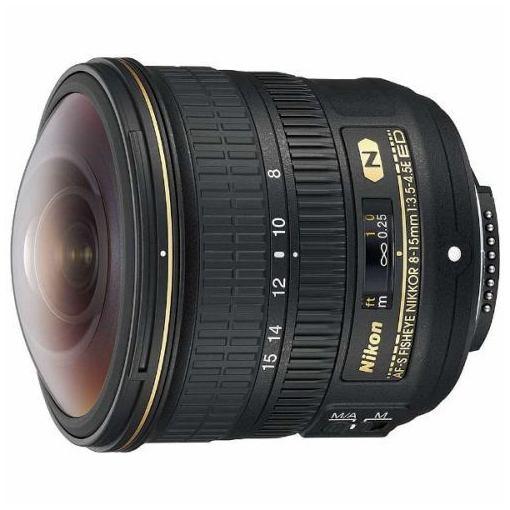 【ポイント10倍!5月10日(金)0:00~23:59まで】ニコン AFS8-15E 交換用レンズ AF-S Fisheye NIKKOR 8-15mm F3.5-4.5E ED