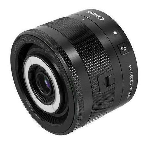 キヤノン 交換用レンズ EF-M28mm F3.5 マクロ IS STM(ミラーレス一眼用)