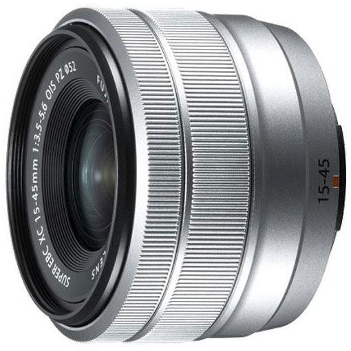 富士フイルム XC1545F3556OISPZS 交換用レンズ XC15-45mmF3.5-5.6 OIS PZ シルバー