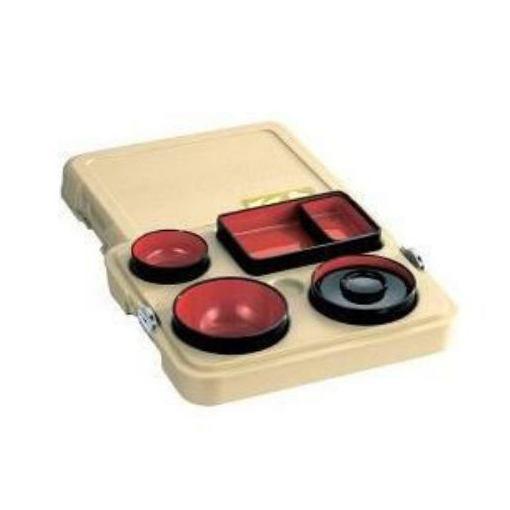配食保温容器「まごころ便」 ウスチャ (保温 弁当箱) DA-SN10-CA