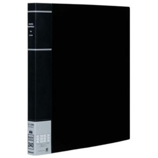 おしゃれ ナカバヤシ PH6L-1024-D L判 3段 ポケットアルバム ブラック 240枚収納 2列 限定タイムセール