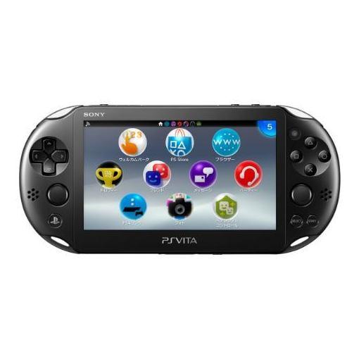 PlayStation Vita Wi-Fiモデル ブラック (PCH-2000シリーズ) PCH-2000ZA11