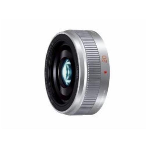 H-H020A-S 交換用レンズ LUMIX G 20mm / F1.7 II ASPH.(シルバー)マイクロフォーサーズ用レンズ