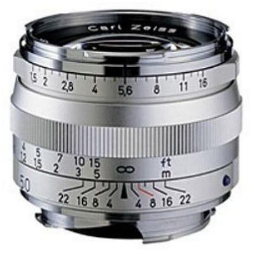 【全品ポイント5倍 8/4 20:00~8/9 01:59】ツァイス 交換用レンズ C Sonnar T*1.5/50 ZM (シルバー)