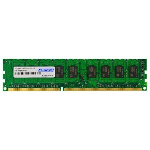 【ポイント10倍!】アドテック ADS12800D-E4GW PC3-12800 240pin DIMM ECC 4GX2枚組 ADS12800D-E4GW
