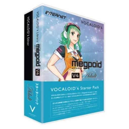 インターネット VOCALOID 4 Starter Pack Megpoid V4 Adult VA4S-MPA01