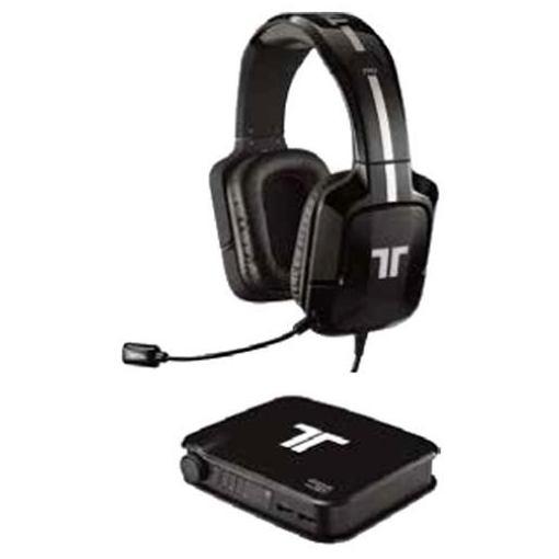 【ポイント10倍!4/22(月)20:00~4/26(金)01:59まで】マッドキャッツ MC-PROP-PC-BKZ 有線ヘッドセット TRITTON Pro+True 5.1 Surround Headset ブラック