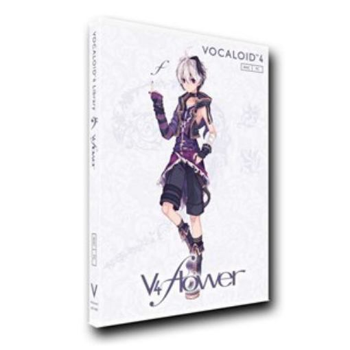 訳あり品送料無料 ガイノイド セール特価 VOCALOID4 Library flower 単体版 v4