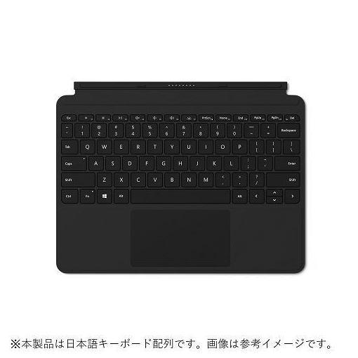 【ポイント10倍!】マイクロソフト KCM-00019 Surface Go タイプ カバー ブラック  ブラック