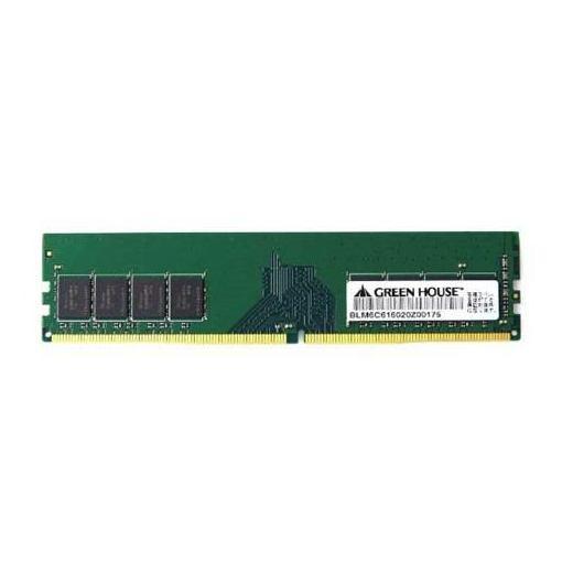 【ポイント10倍!】グリーンハウス GH-DRF2133-16GB 増設メモリ デスクトップ用 PC4-17000 DDR4-2133MHz対応 DIMM DDR4 16GB 1枚