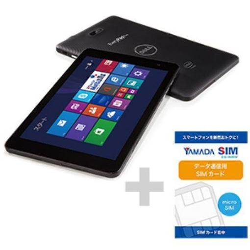 【ポイント10倍!】DELL ヤマダ電機オリジナル Windows 8.1対応タブレットPC Every Pad Pro (ヤマダSIM データマイクロSIMカード付き)