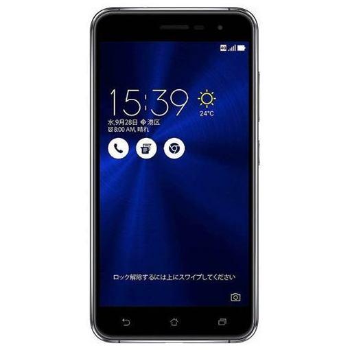 【ポイント10倍!10/5(金)20時~10/11(木)1:59まで】ASUS ZE520KL-BK32S3 SIMフリースマートフォン Zenfone3 32G サファイアブラック