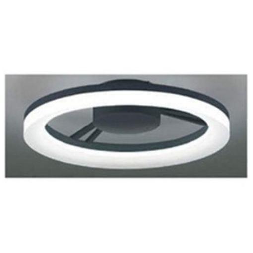 コイズミ BH14704C リモコン付LEDシーリングライト (~8畳) 調光 (昼光色)