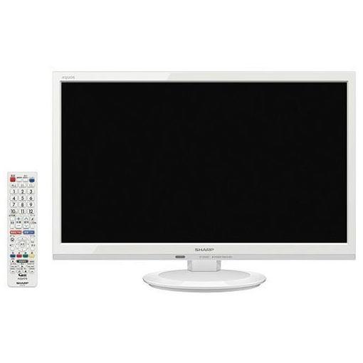 【ポイント10倍!】シャープ 2T-C22AD-W AQUOS(アクオス) 22V型地上・BS・110度CSデジタル フルハイビジョンLED液晶テレビ ホワイト