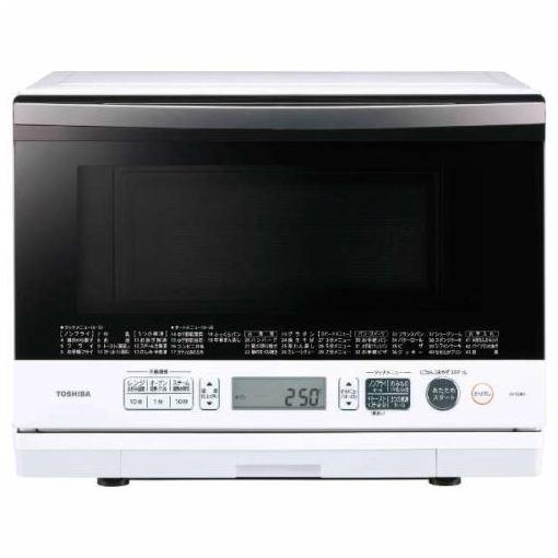 【ポイント10倍!】東芝 ER-SD80-W 過熱水蒸気オーブンレンジ 「石窯ドーム」(26L) グランホワイト