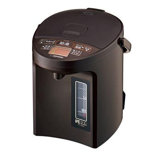 電気ポット 象印 ポット CV-GB22-TA マイコン沸とうVE電気まほうびん 2.2L 品質保証 ブラウン 数量限定