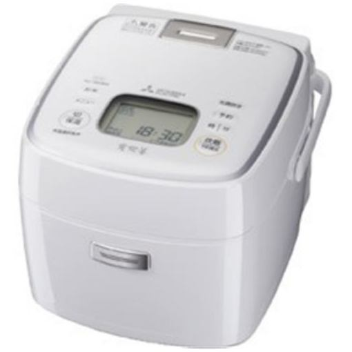 三菱 NJ-SE069-W IHジャー炊飯器(3.5合炊き) ピュアホワイト