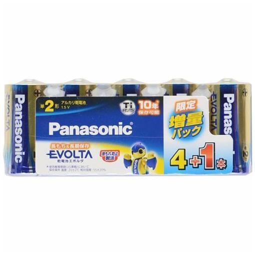 パナソニック LR14EJSP 5S エボルタ電池 NEW ARRIVAL 期間限定特価品 4+1本 単2形