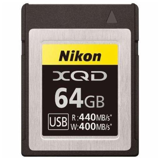 ニコン MCXQD64G XQDメモリーカード 64GB