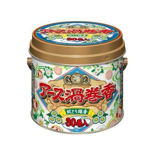 アース製薬 特売 全品送料無料 アース渦巻香 30巻缶入