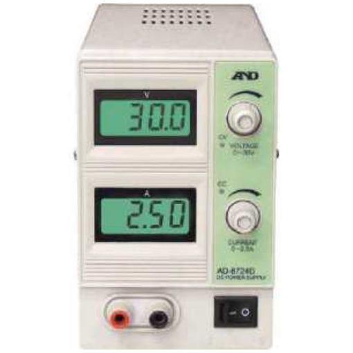 【ポイント10倍!】A&D 直流安定化電源 30V 2.5A