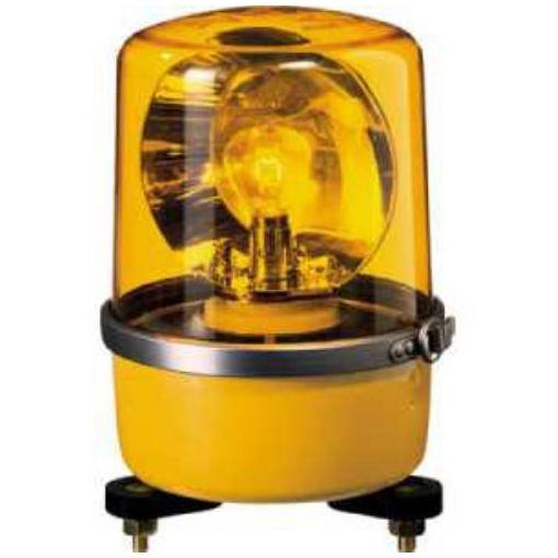 【ポイント10倍!】パトライト SKP-A型 中型回転灯 Φ138 黄