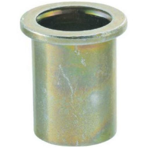 TRUSCO クリンプナット平頭ステンレス 板厚2.5 M10X1.5 100入