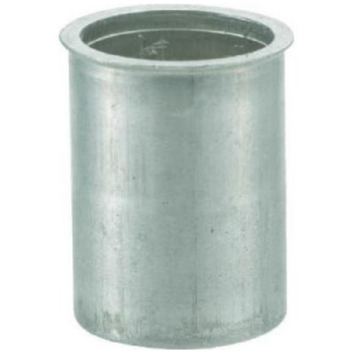 TRUSCO クリンプナット薄頭アルミ 板厚2.5 M5X0.8 1000入