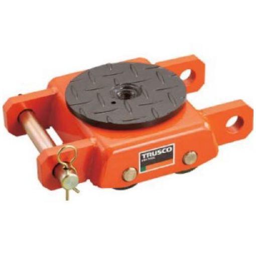 TRUSCO オレンジローラー ウレタン車輪付 標準型 5TON