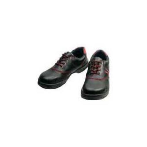 【ポイント10倍!10/5(金)20時~10/11(木)1:59まで】シモン 安全靴 短靴 SL11-R黒/赤 26.5cm