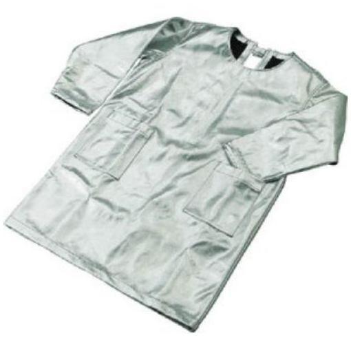 【ポイント3倍!】TRUSCO スーパープラチナ遮熱作業服 エプロン Lサイズ