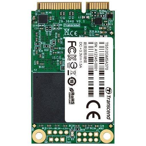 トランセンド・ジャパン SATA III 6Gb/s mSATA SSD 512GB TS512GMSA370 TS512GMSA370