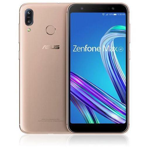 【ポイント10倍!4/22(月)20:00~4/26(金)01:59まで】ASUS ZB555KL-GD32S3 SIMフリースマートフォン 「Zenfone Max M1 Series」 5.5インチ/メモリ 3GB/ストレージ 32GB ピンクゴールド