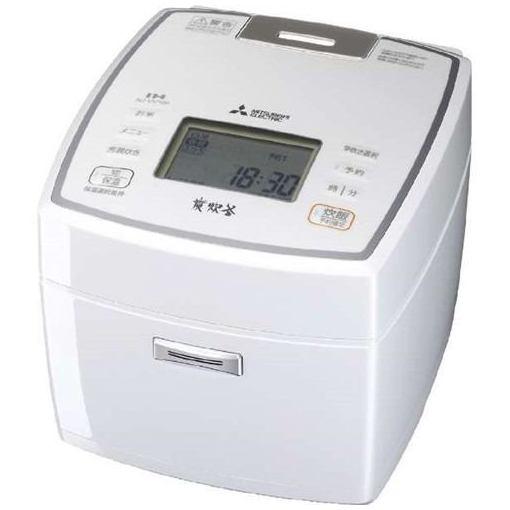 三菱 NJ-VV189-W IHジャー炊飯器(1升炊き) 七重全面加熱 ピュアホワイト