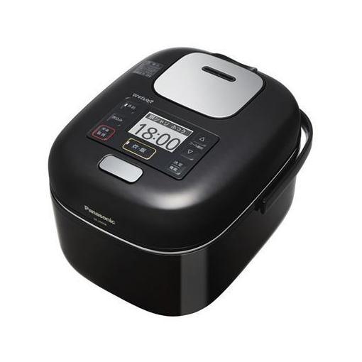 【ポイント10倍!】パナソニック SR-JW058-KK 可変圧力IHジャー炊飯器 (3合炊き) シャインブラック