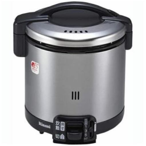 RR-055GS-D ガス炊飯器 こがまる・LPガス用 5.5合炊き 炊飯専用