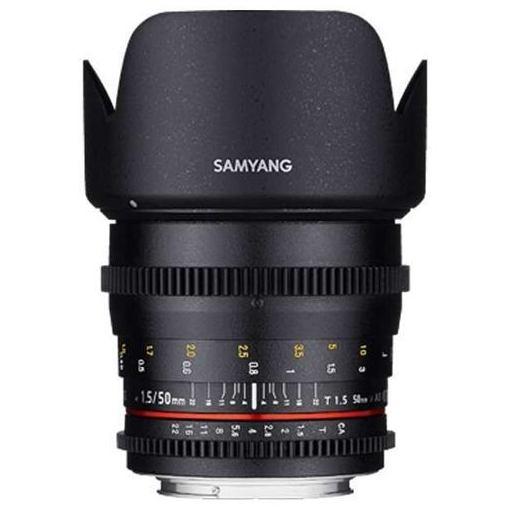 【ポイント10倍!5月10日(金)0:00~23:59まで】SAMYANG 50mm T1.5 VDSLR AS UMC ソニーE用