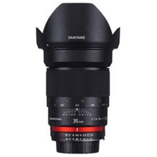 <title>SAMYANG 交換レンズ [並行輸入品] 35mmF1.4 AS UMC フルサイズ対応 キヤノンEFマウント</title>