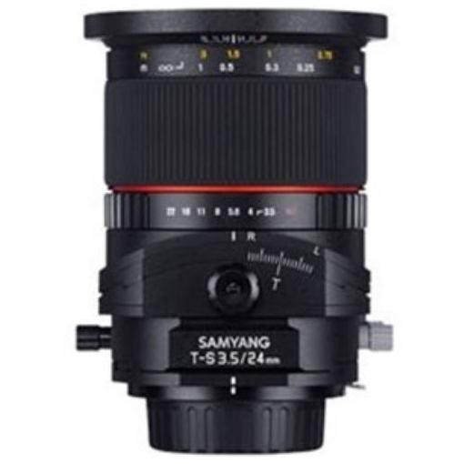 SAMYANG 交換レンズ T-S 24mm F3.5 ED AS UMC TILT-SHIFT フルサイズ対応【キヤノンEF-Mマウント】
