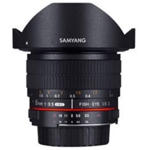 SAMYANG 交換レンズ 8mmF3.5 UMC Fisheye CSII APS-C用【ペンタックスKマウント】