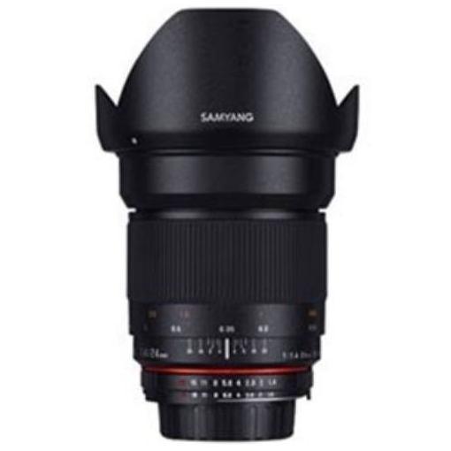 SAMYANG 交換レンズ 24mm F1.4mm ED AS IF UMC フルサイズ対応【ペンタックスKマウント】
