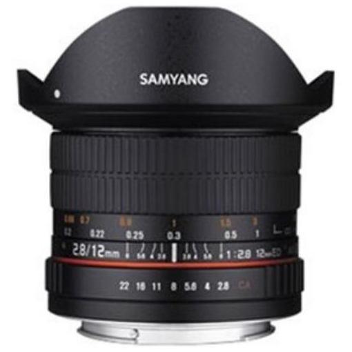 【ポイント10倍!5月10日(金)0:00~23:59まで】SAMYANG 交換レンズ 12mm F2.8 ED AS NCS Fisheye フルサイズ対応【ソニーEマウント】