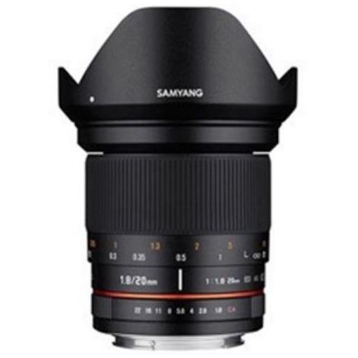 SAMYANG 交換レンズ 20mm F1.8【キヤノンMマウント】