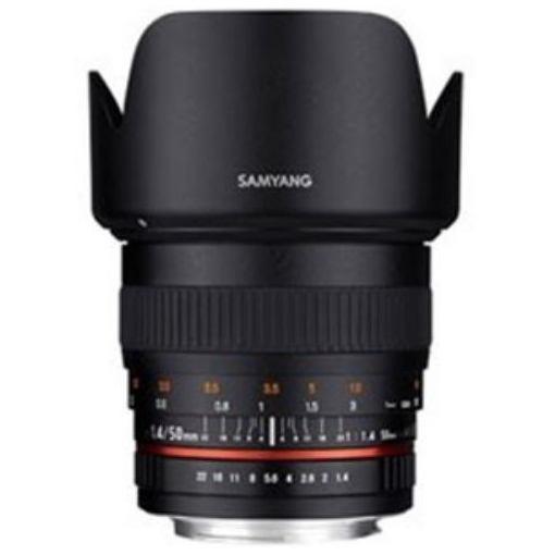 【ポイント10倍!5月10日(金)0:00~23:59まで】SAMYANG 交換レンズ 50mm F1.4 AS UMC【FUJIFILM Xマウント】