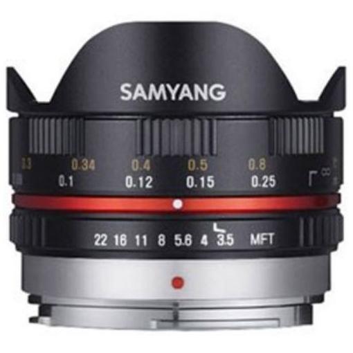 SAMYANG 交換レンズ 7.5mm3.5 UMC Fisheye 【マイクロフォーサーズマウント】(ブラック)