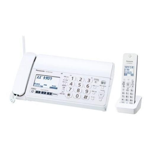 パナソニック KX-PZ210DL-W デジタルコードレス普通紙ファクス(子機1台付き)ホワイト