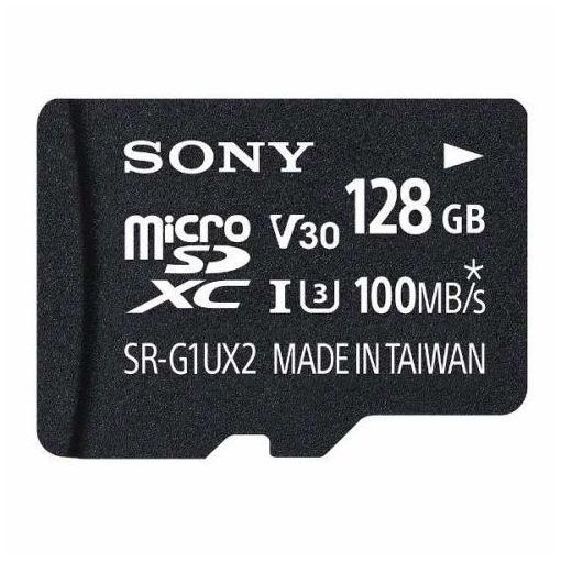 ソニー SR-128UX2B 128GB microSDXCカード UHS-I Class 10